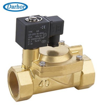 DHFD pilot operated solenoid valve