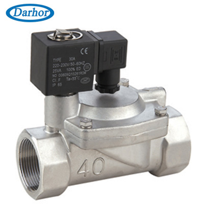 DHFD-J pilot operated solenoid valve