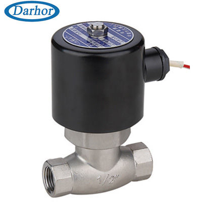 DHUS-J stainless steel steam solenoid valve