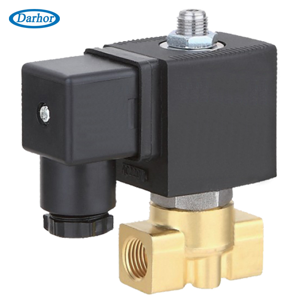 DHG31 brass 3 way 2 position solenoid valve