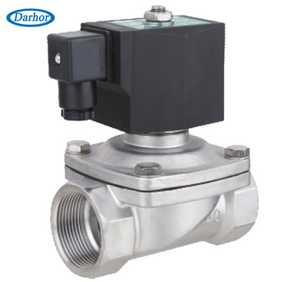 2W21-S stainless steel solenoid valve for water